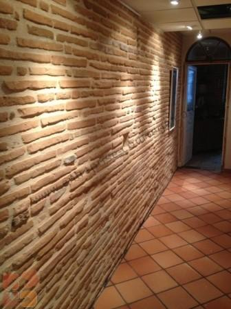 Entreprise courr ge ma onnerie fa ade r novation carrelage for Decoration faience couloir